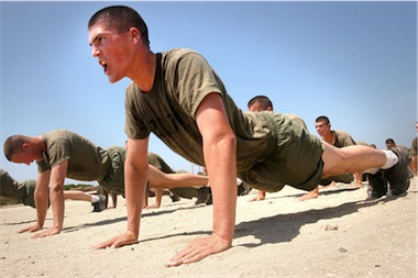 how to cheat on army sit ups